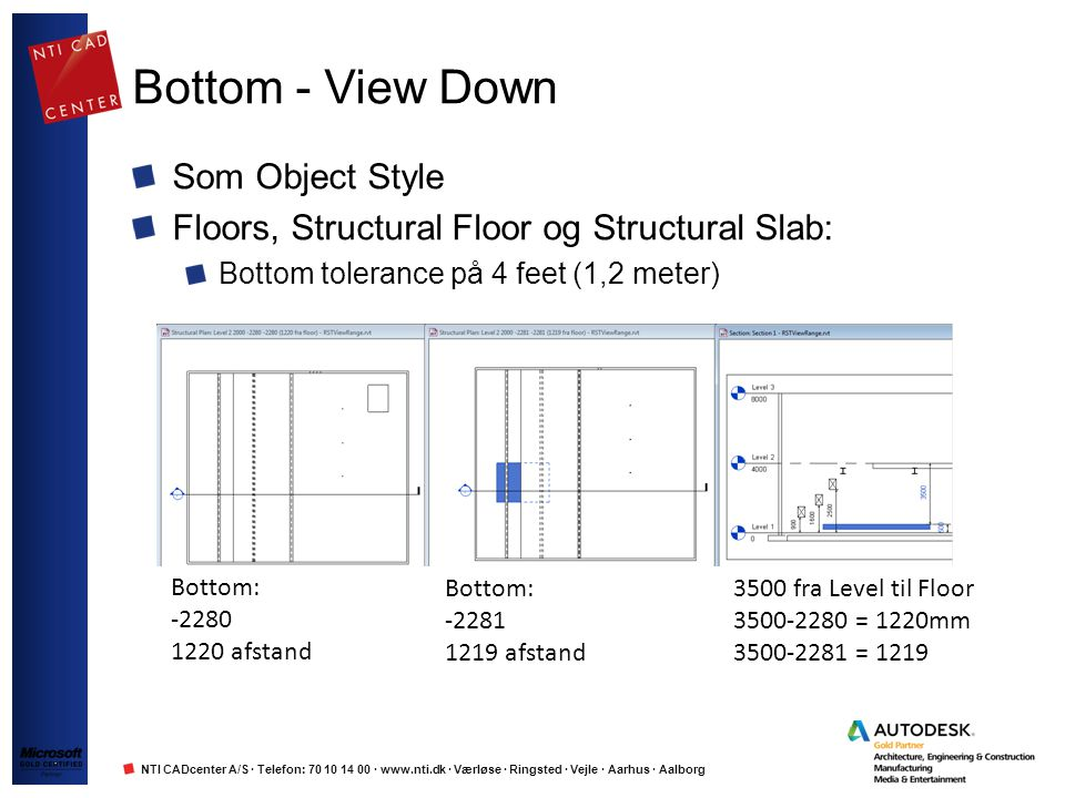 Bottom - View Down Som Object Style