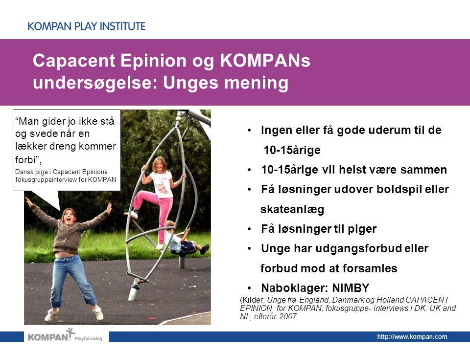 Capacent Epinion og KOMPANs undersøgelse: Unges mening
