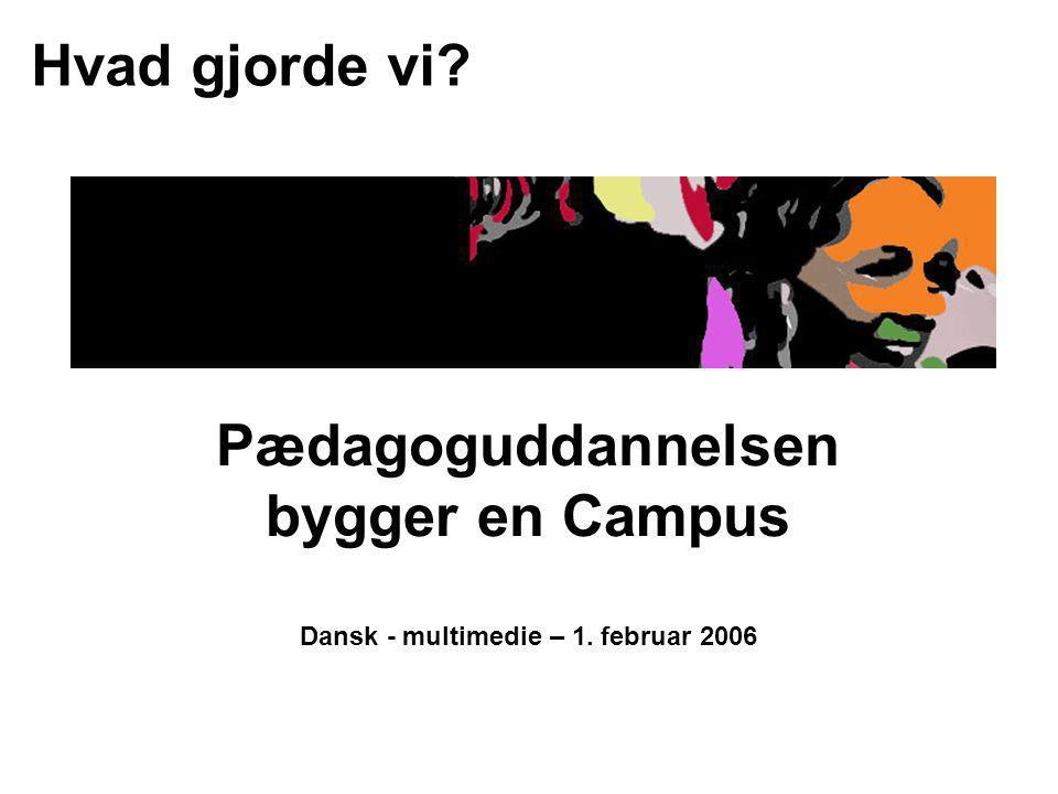 Dansk - multimedie – 1. februar 2006