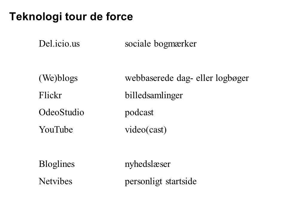 Teknologi tour de force