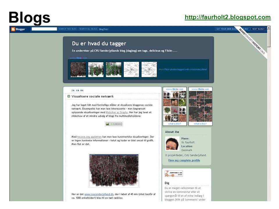 Blogs http://faurholt2.blogspot.com