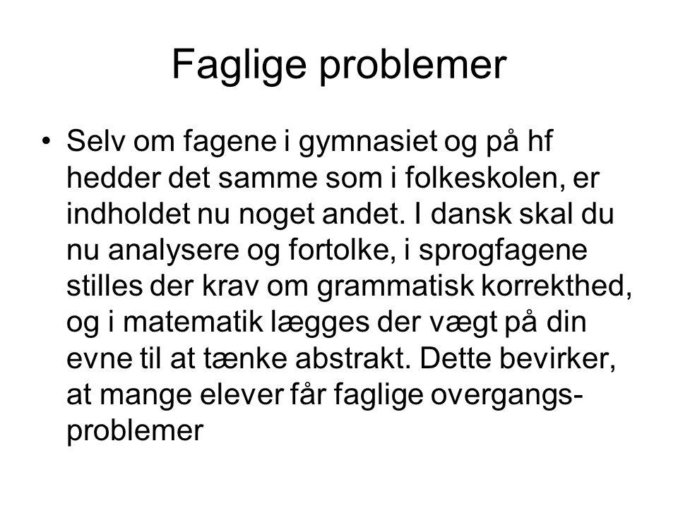 Faglige problemer