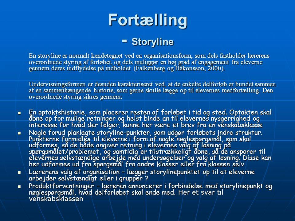 Fortælling - Storyline