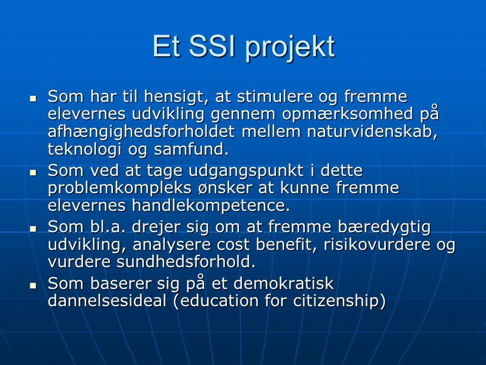 Et SSI projekt