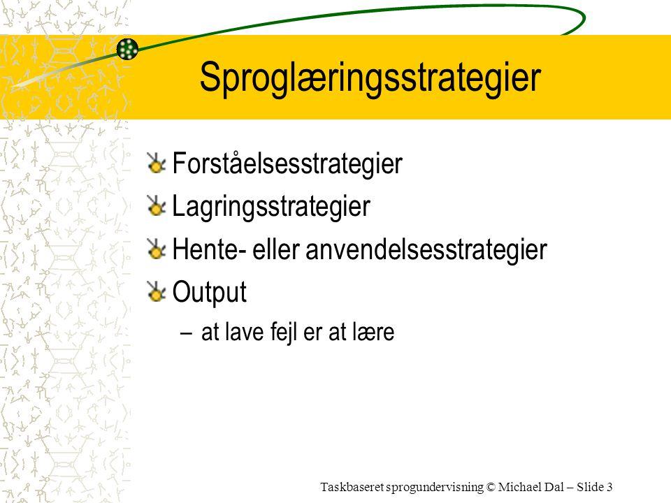 Sproglæringsstrategier