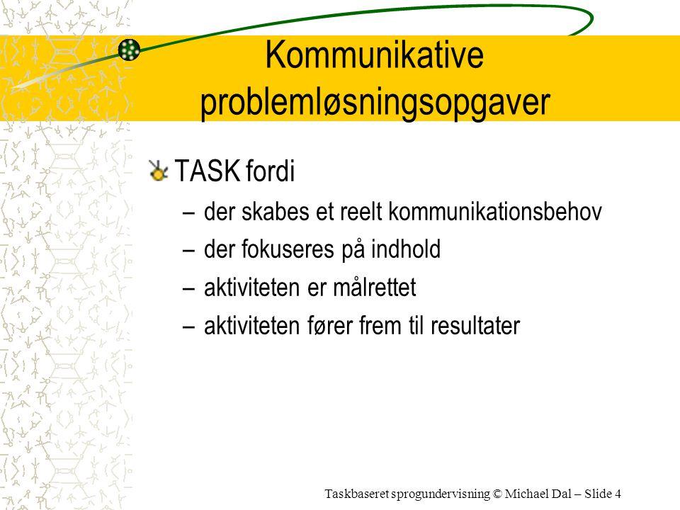 Kommunikative problemløsningsopgaver