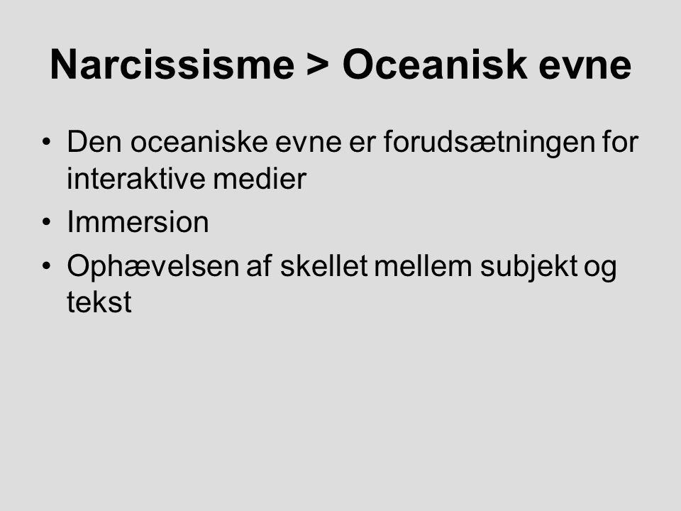 Narcissisme > Oceanisk evne
