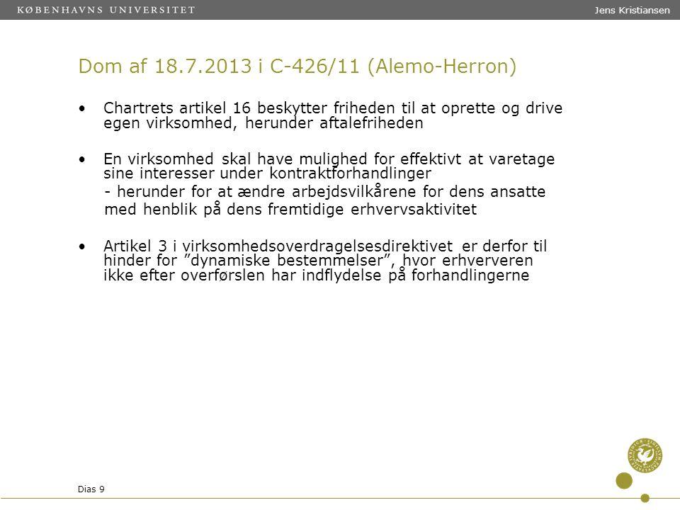Dom af 18.7.2013 i C-426/11 (Alemo-Herron)