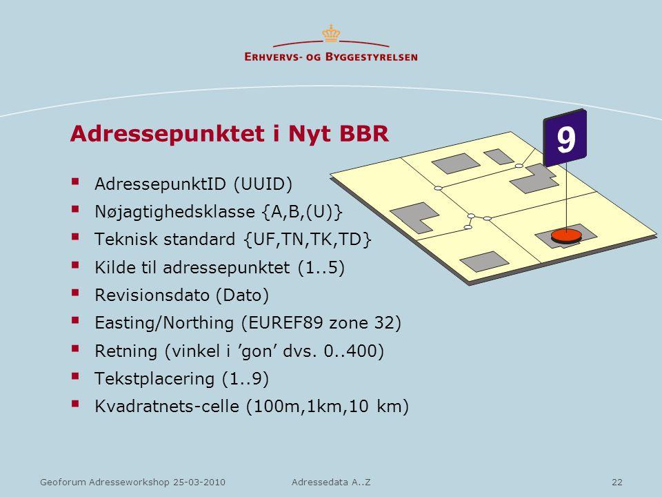 Adressepunktet i Nyt BBR