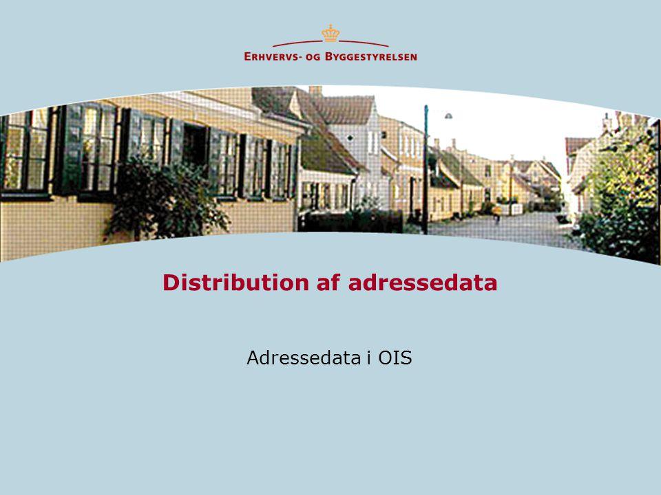 Distribution af adressedata