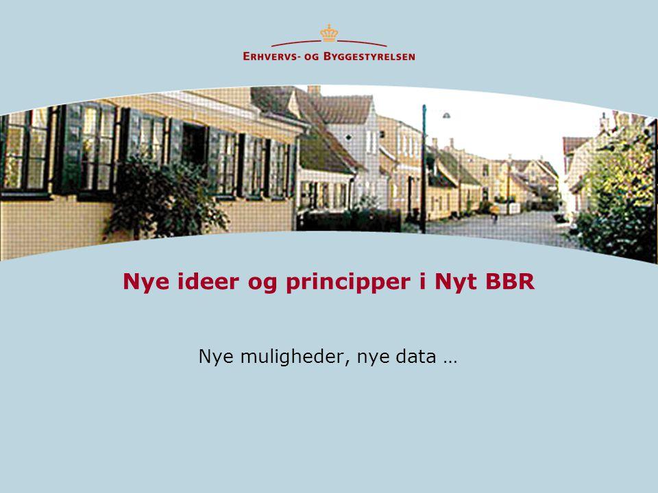 Nye ideer og principper i Nyt BBR