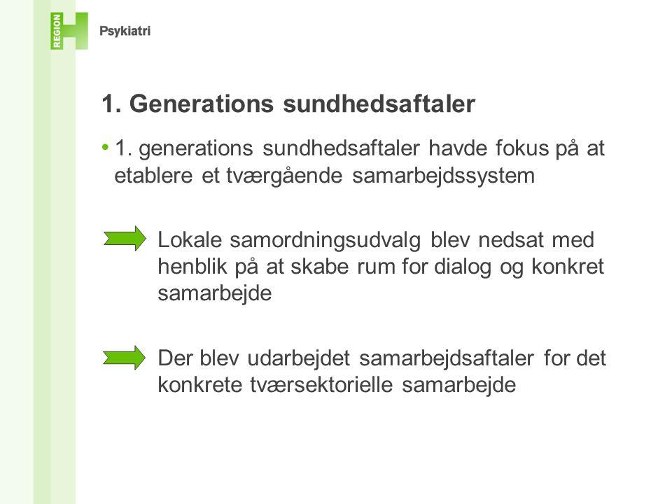 1. Generations sundhedsaftaler