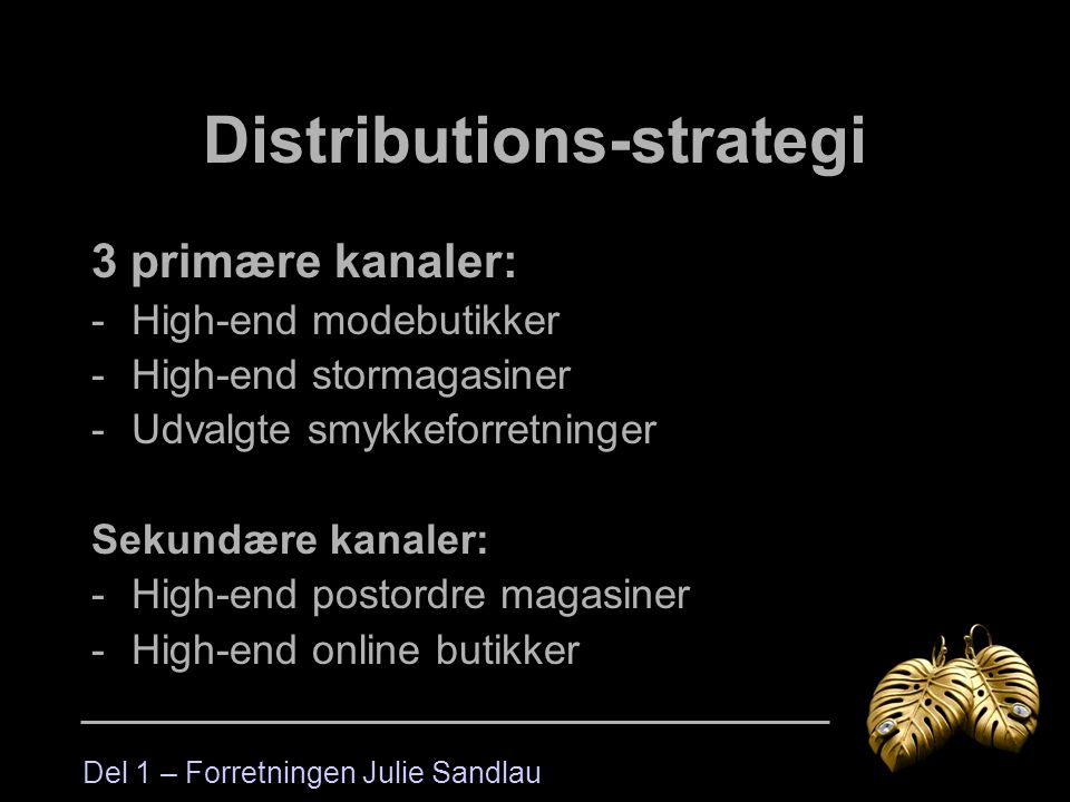 Distributions-strategi