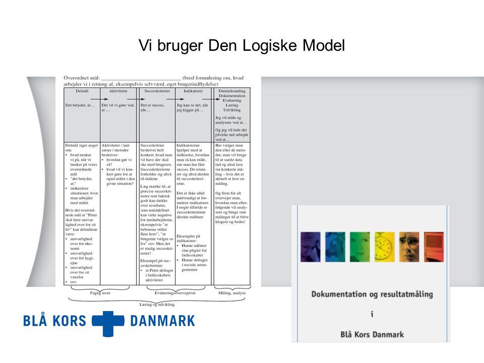 Vi bruger Den Logiske Model