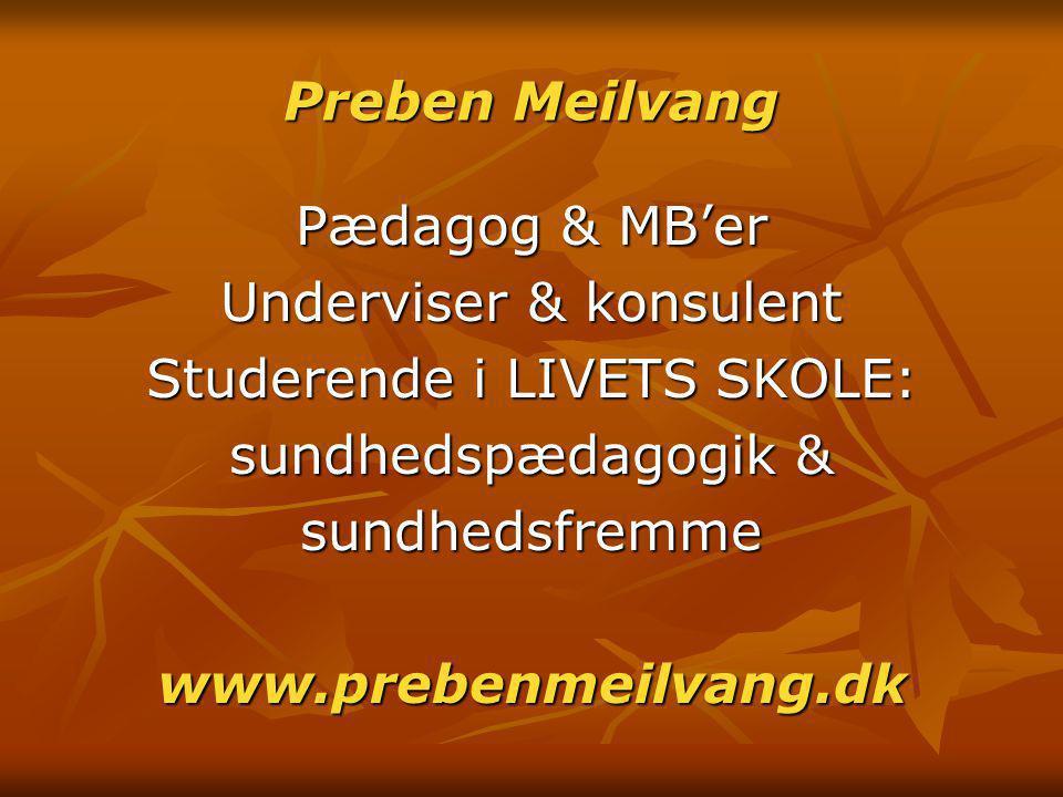 Preben Meilvang www.prebenmeilvang.dk