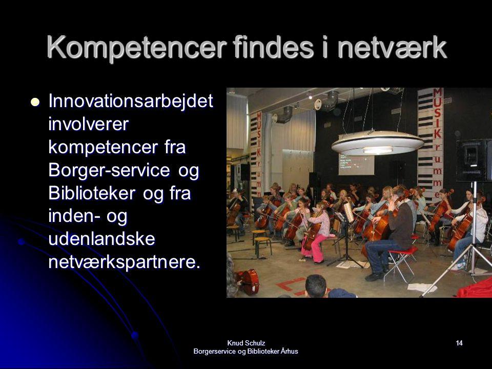 Kompetencer findes i netværk