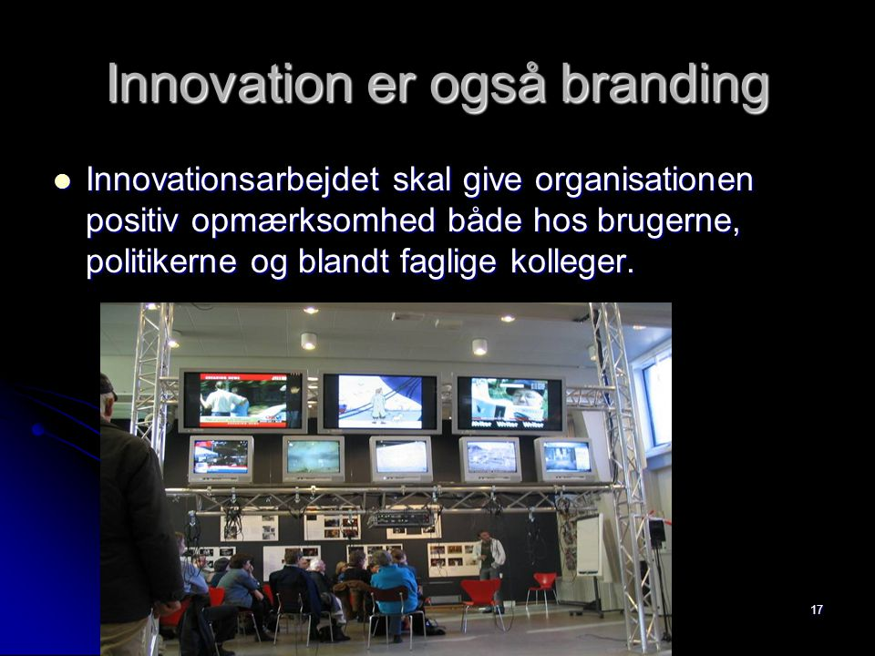 Innovation er også branding