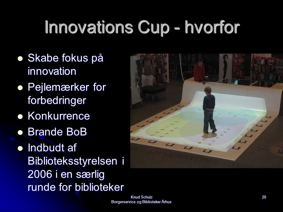 Innovations Cup - hvorfor