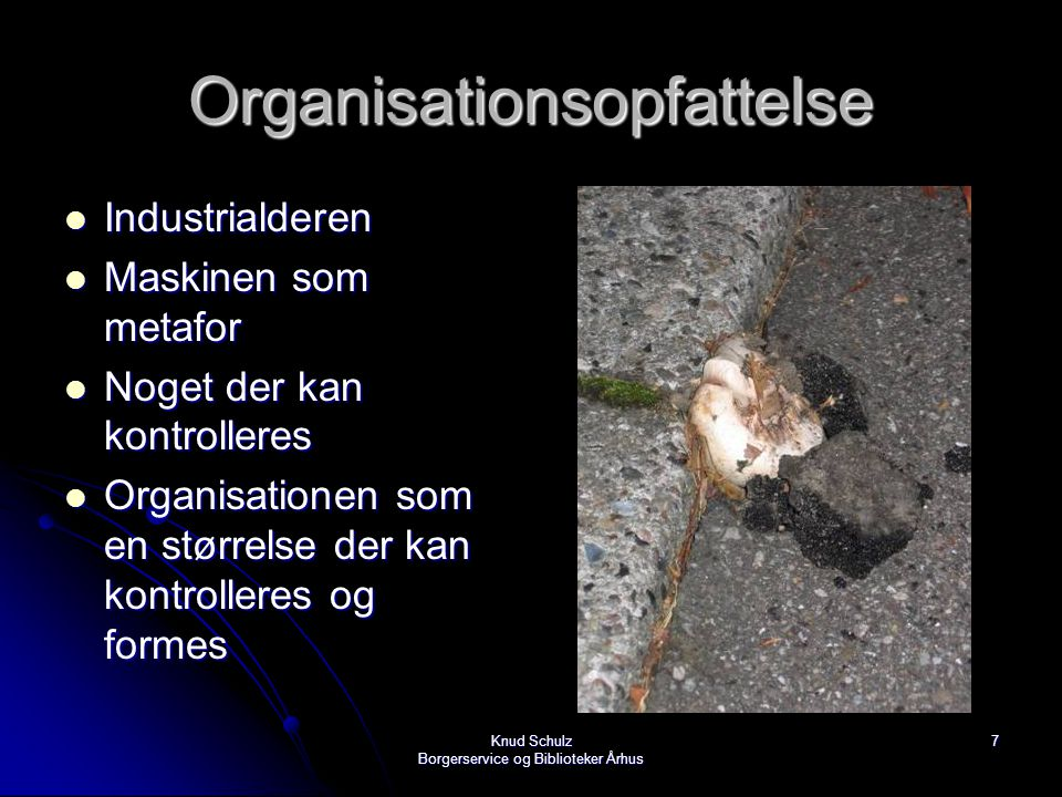 Organisationsopfattelse