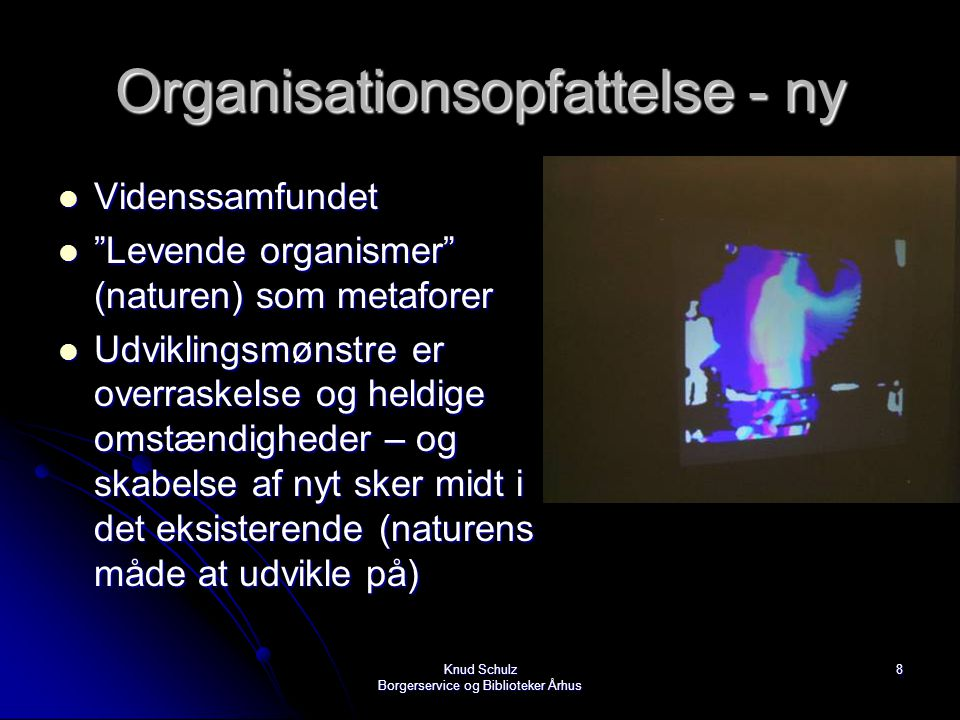Organisationsopfattelse - ny