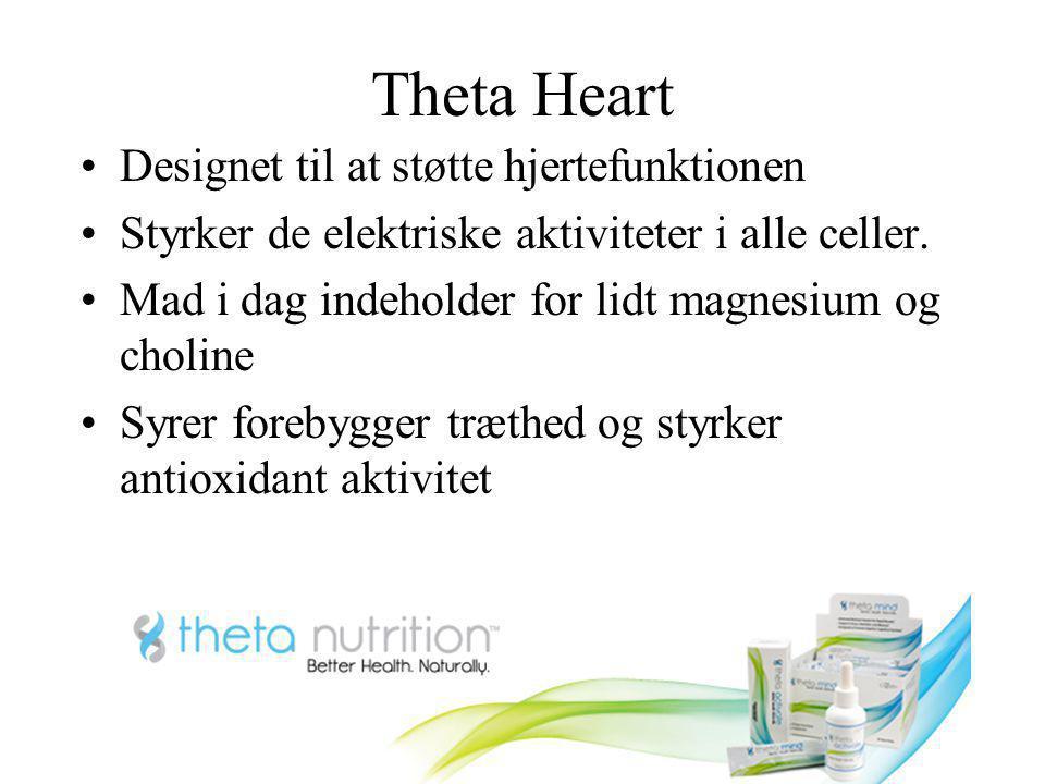 Theta Heart Designet til at støtte hjertefunktionen
