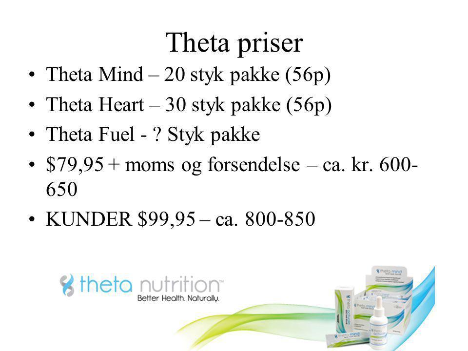 Theta priser Theta Mind – 20 styk pakke (56p)