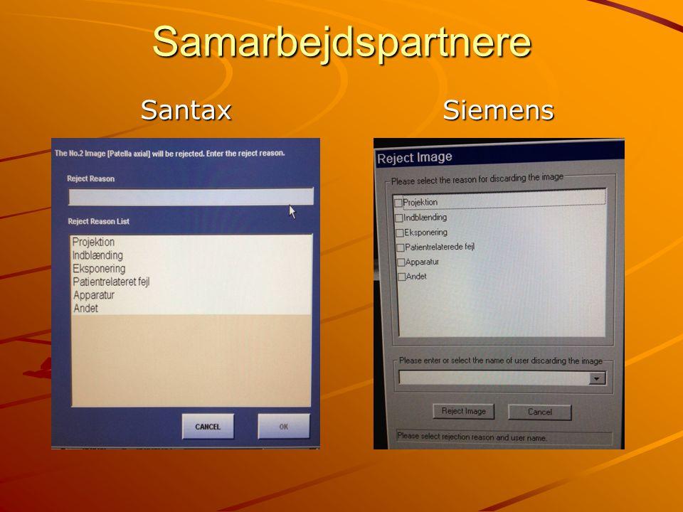 Samarbejdspartnere Santax Siemens