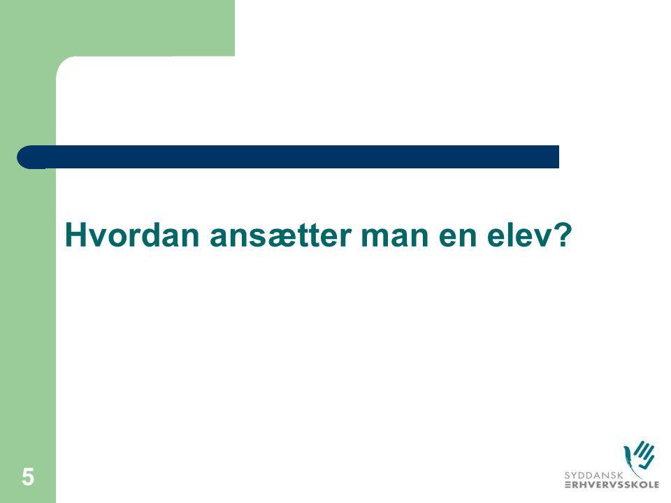 Mette Andersen SDE Ansættelse af elev. Mette Andersen SDE - ppt download