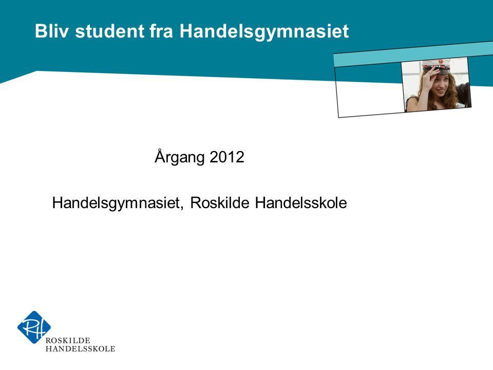 Handelsgymnasiet, Roskilde Handelsskole