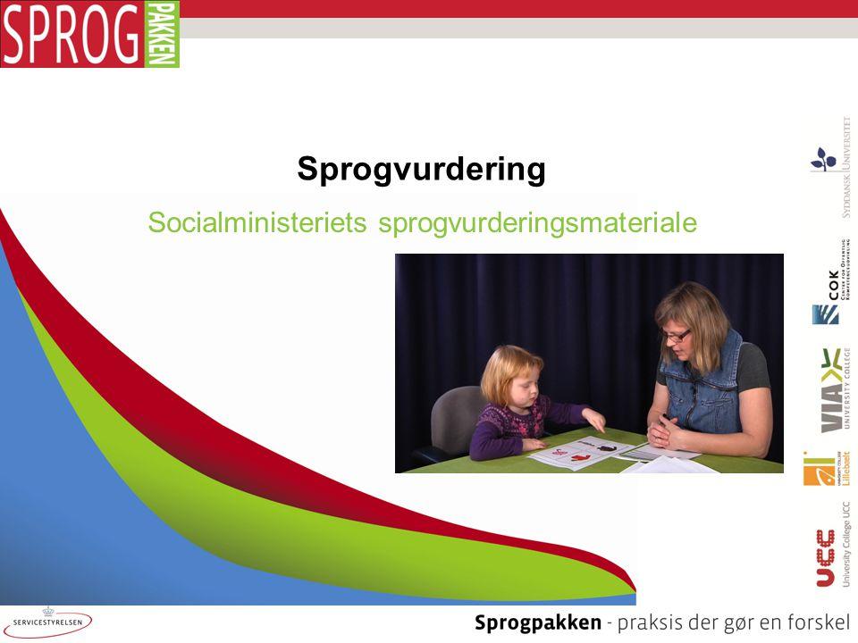 Socialministeriets sprogvurderingsmateriale