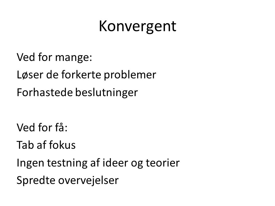 Konvergent
