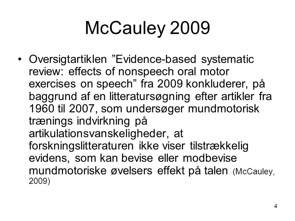 McCauley 2009