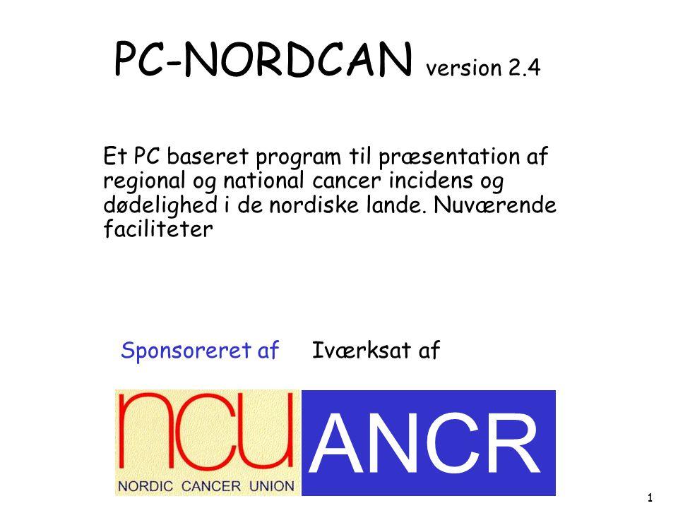 ANCR PC-NORDCAN version 2.4