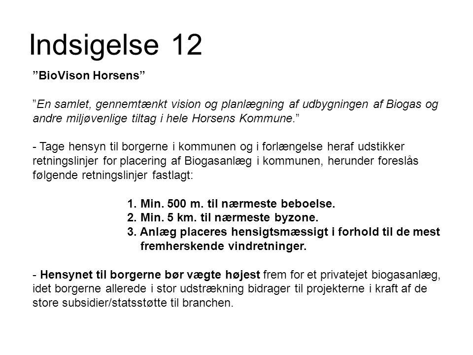 Indsigelse 12 BioVison Horsens