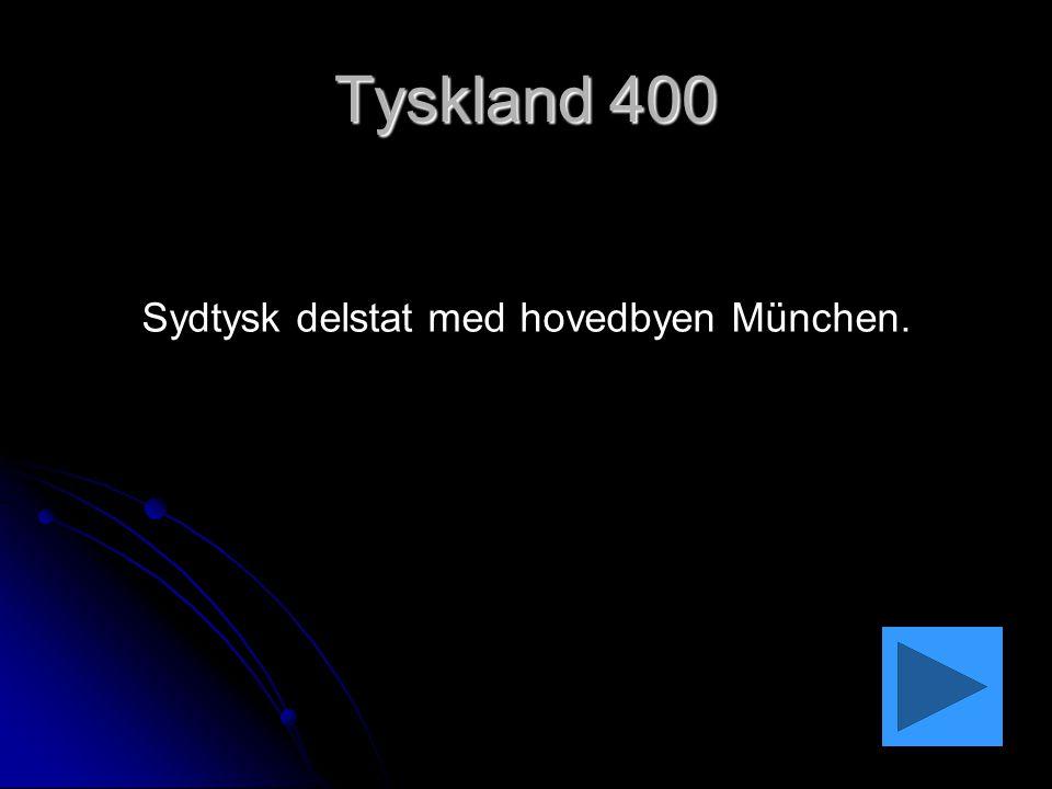 Sydtysk delstat med hovedbyen München.