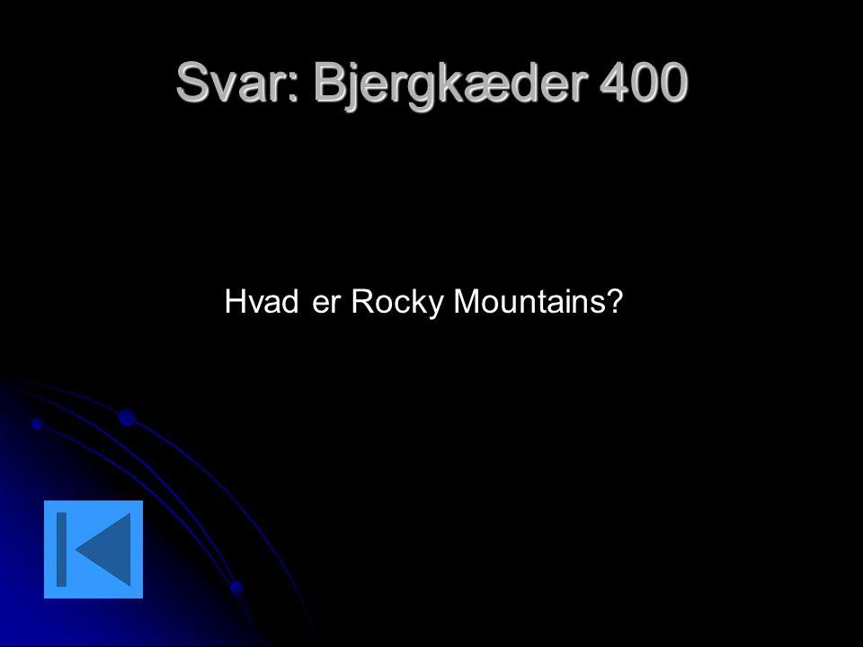 Hvad er Rocky Mountains