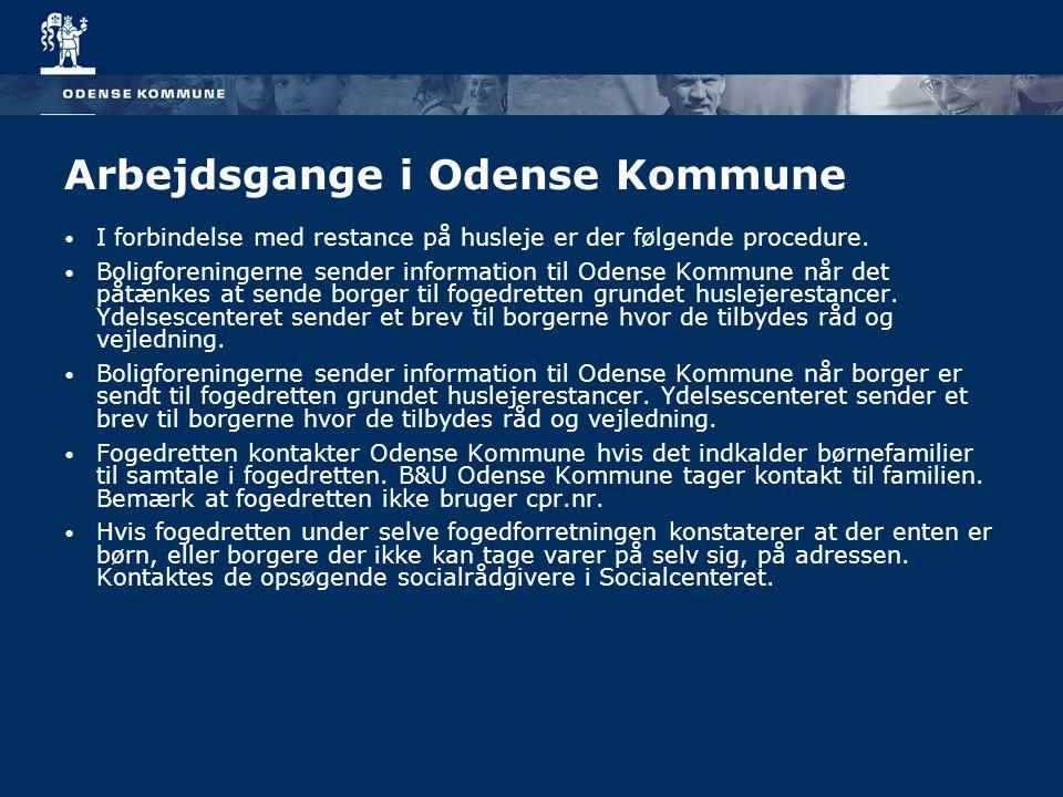 Arbejdsgange i Odense Kommune
