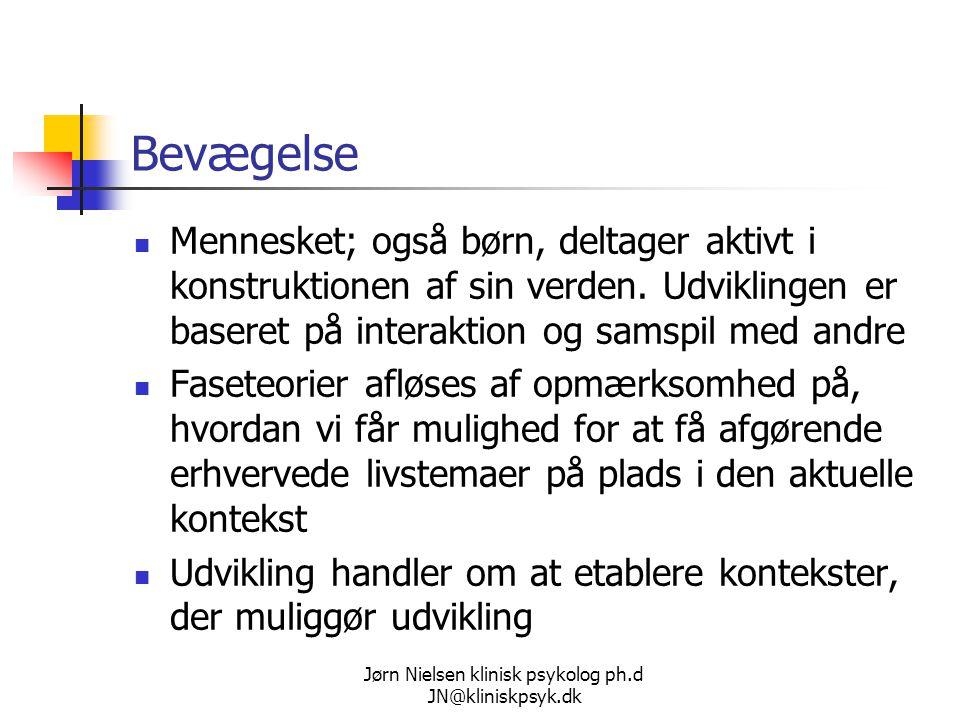 Jørn Nielsen klinisk psykolog ph.d JN@kliniskpsyk.dk