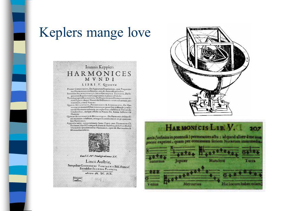 Keplers mange love