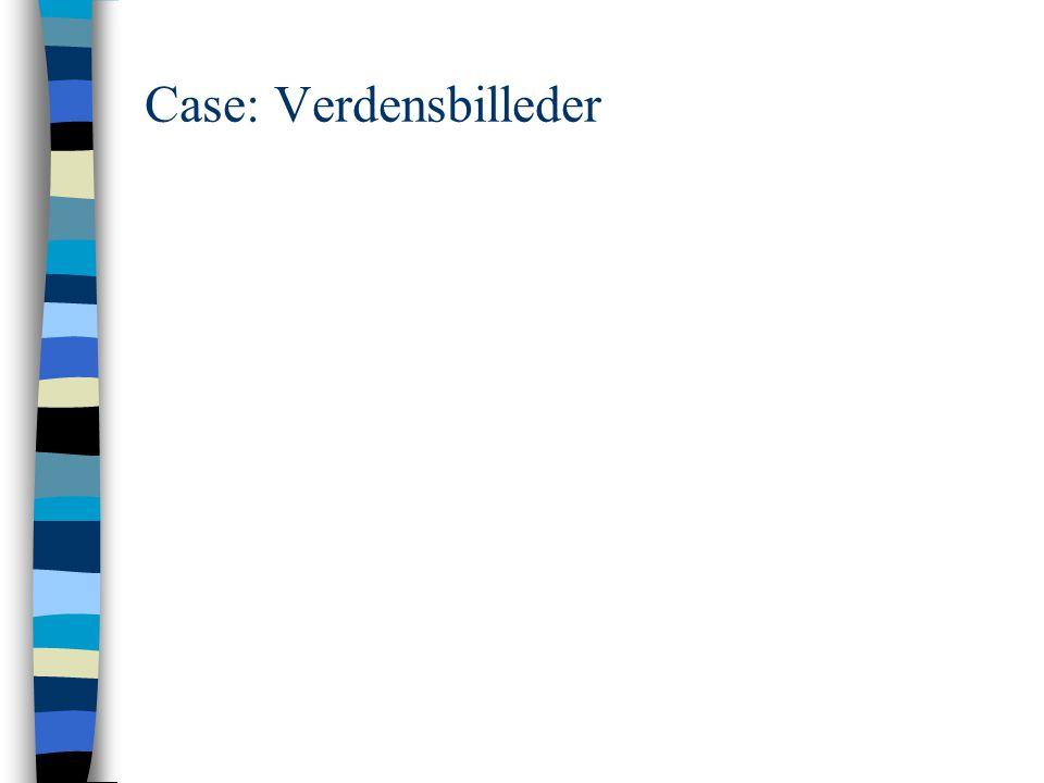 Case: Verdensbilleder
