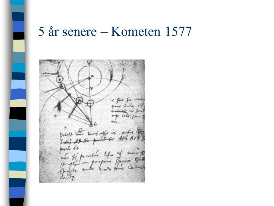 5 år senere – Kometen 1577