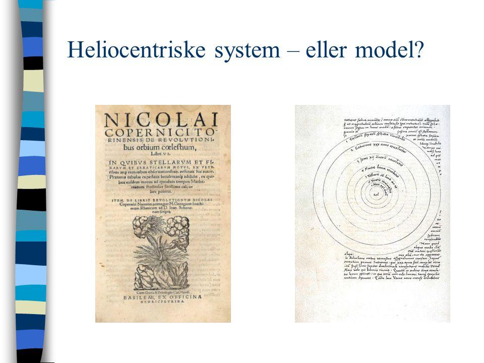 Heliocentriske system – eller model
