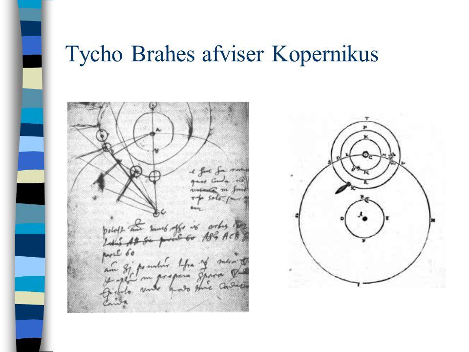 Tycho Brahes afviser Kopernikus