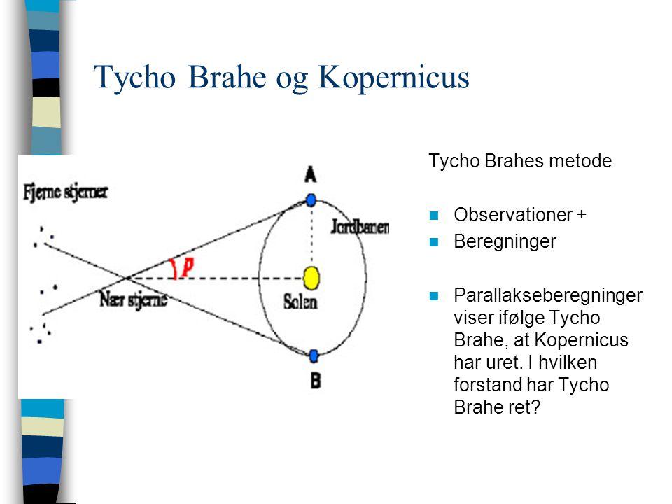 Tycho Brahe og Kopernicus
