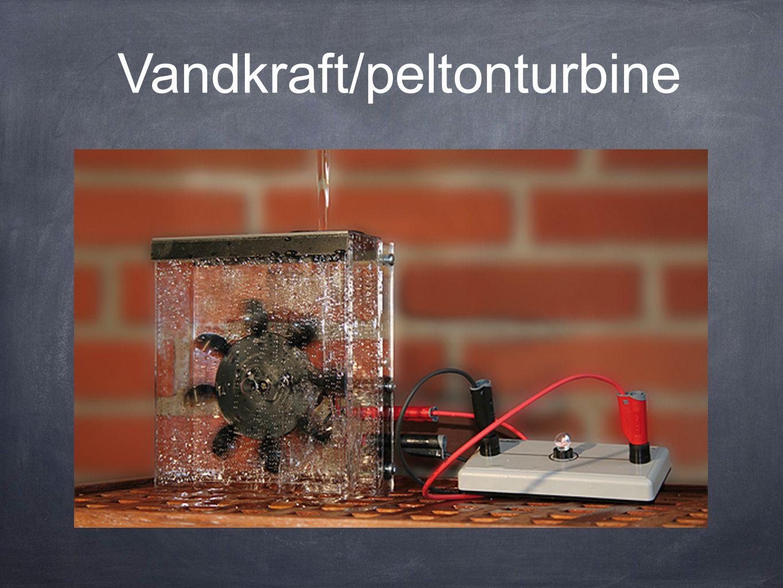Vandkraft/peltonturbine