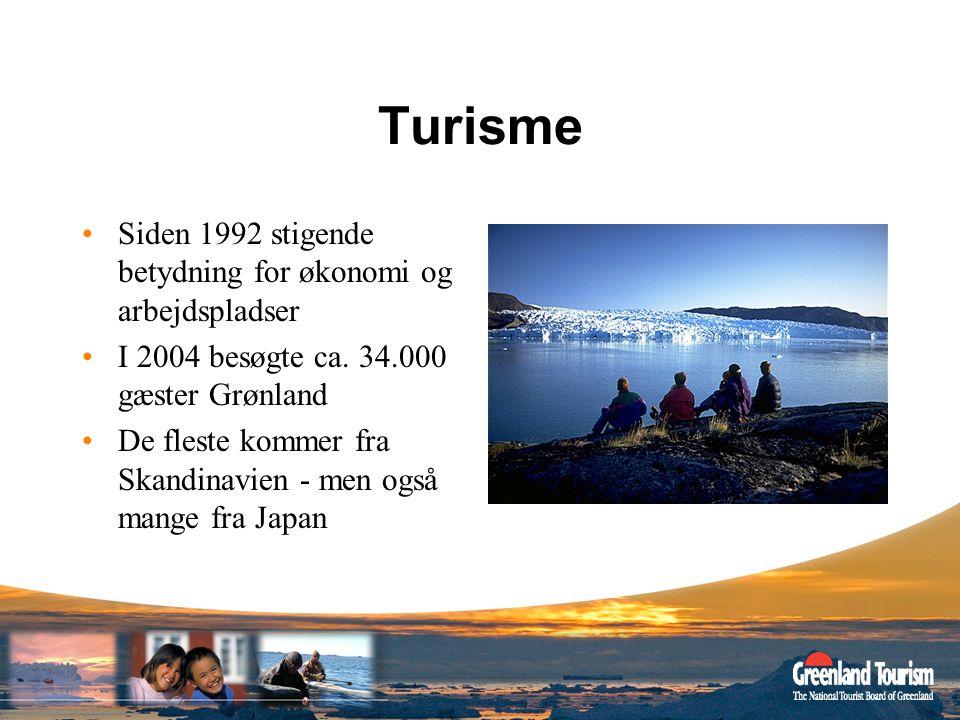 Turisme Siden 1992 stigende betydning for økonomi og arbejdspladser