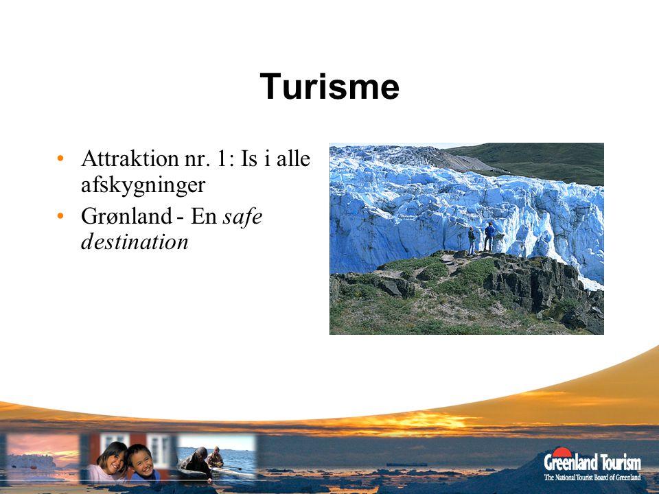 Turisme Attraktion nr. 1: Is i alle afskygninger