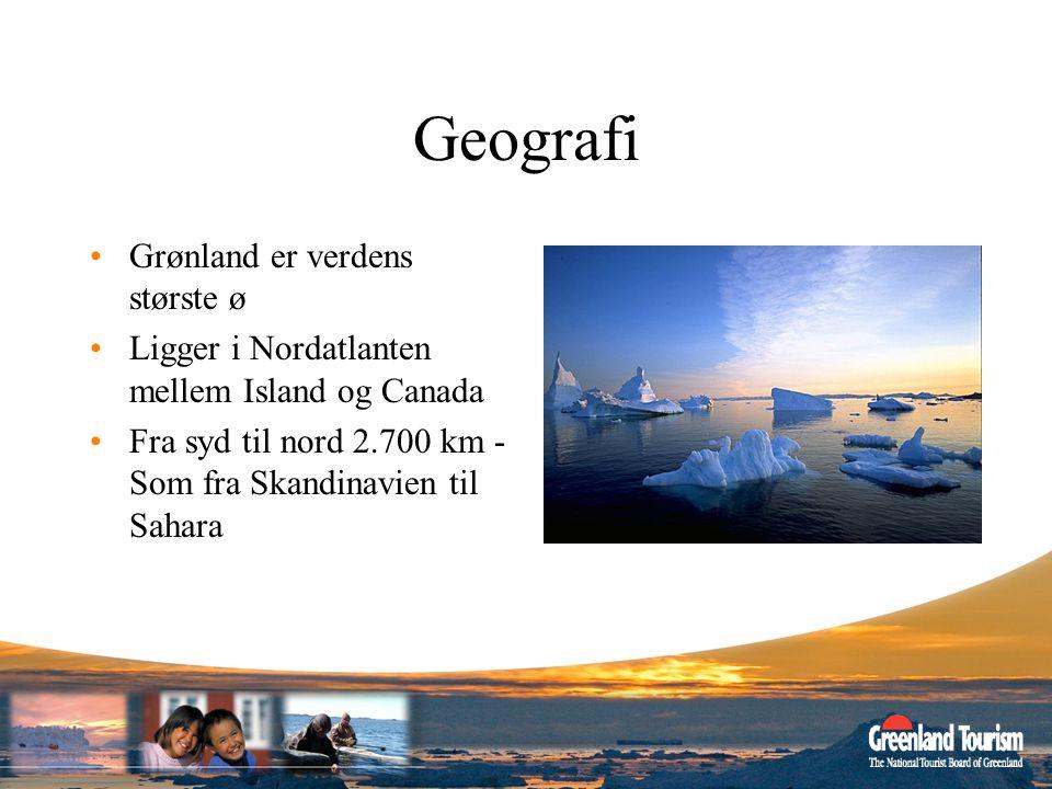 Geografi Grønland er verdens største ø