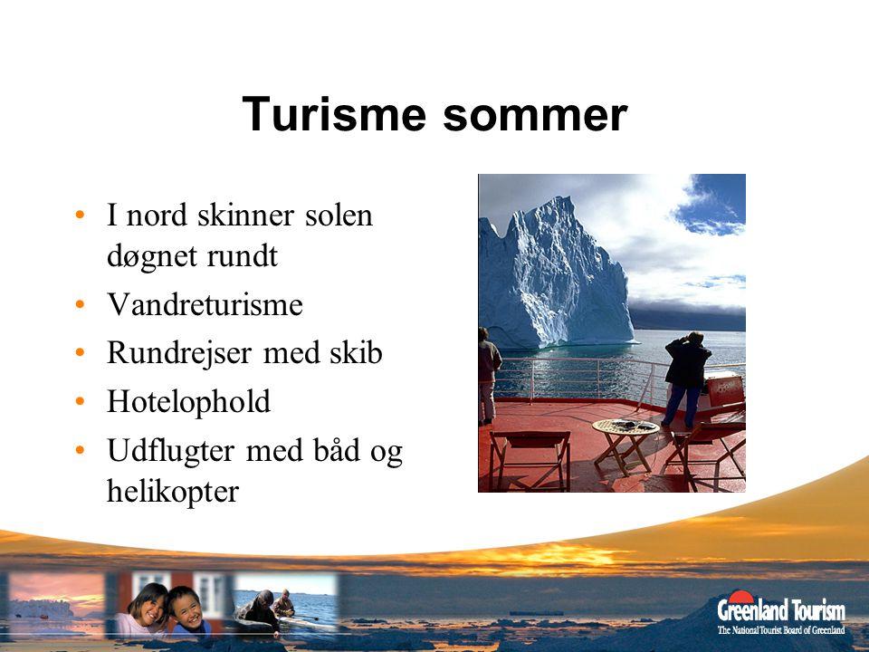 Turisme sommer I nord skinner solen døgnet rundt Vandreturisme