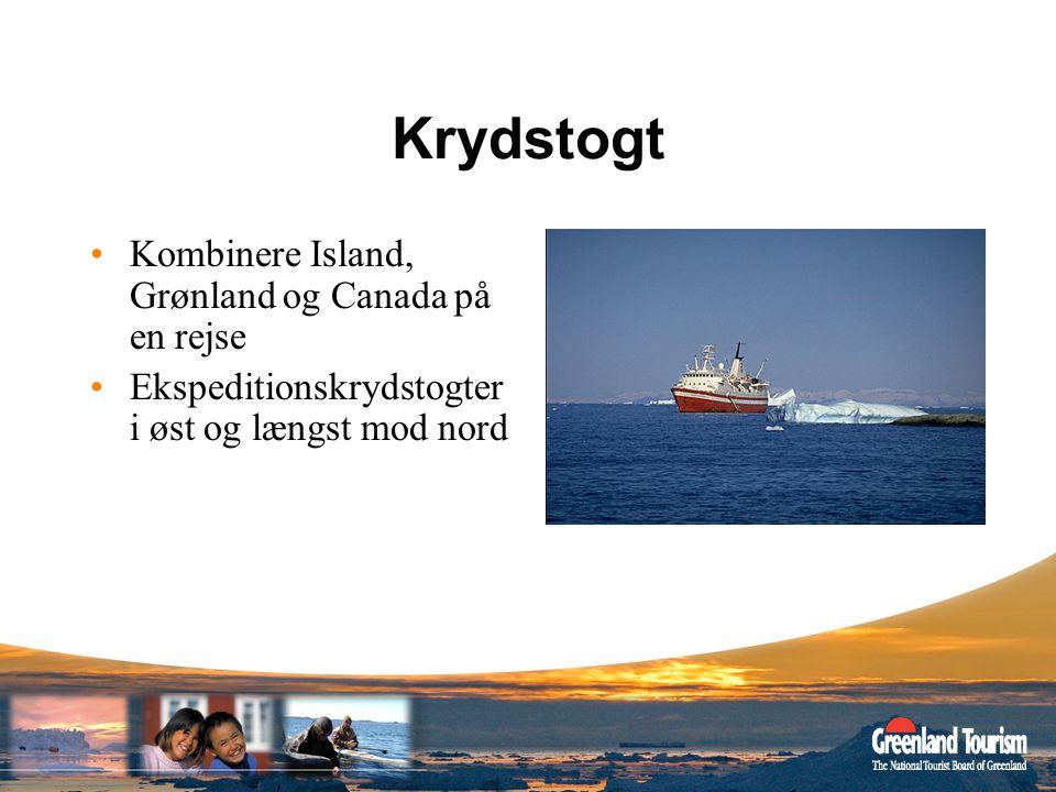 Krydstogt Kombinere Island, Grønland og Canada på en rejse